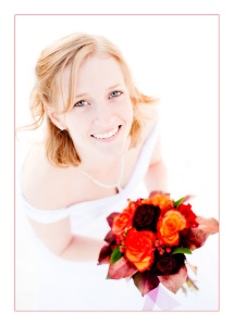 Anni with Bouquet